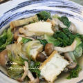 ◆福岡県産 リーフレタスと厚揚げのさっと煮 ♪