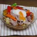 牛しゃぶと夏野菜の冷やしカレーうどん by KOICHIさん