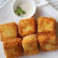チーズイン!お豆腐のフライ~ちょっとカレー風味~