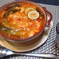 『トマトスープ 溶き卵仕立て』の作り方♪濃厚簡単ヘルシーレシピ☆ by 自宅料理人ひぃろさん