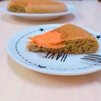 【低糖質おやつ】炊飯器で?!野菜のアーモンドケーキ