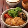 鶏ハンバーグのみぞれあんかけ【#作り置き #冷凍保存 #お弁当 #調味料2つ #さっぱり #ヘルシー #主菜】