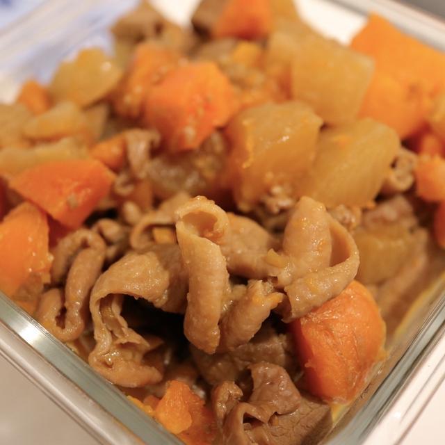 #おうち時間 最近の在宅ランチ事情、冷やし中華と韓国ラーメンノグリ。と、ホットクックで豚もつ煮が上手にできた!