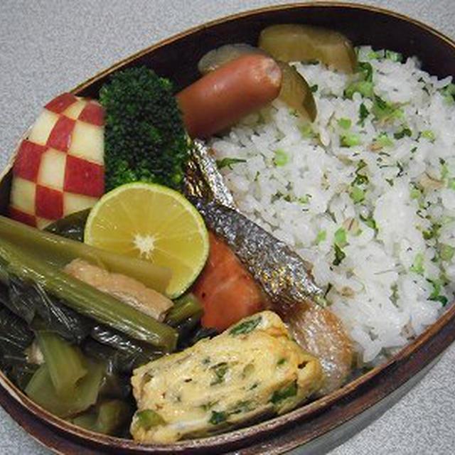 大根菜飯弁当