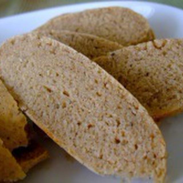 【レシピ】米粉が入った和風パン
