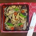 新年を華やかに彩る おせちの定番 煮しめ