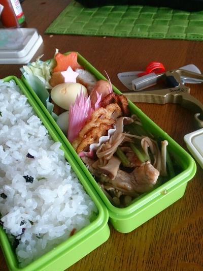 10/26と、28のお弁当・ささみの揚げ焼き&&酢豚と油揚げの卵サンド