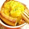 ジャガイモと食パンの特選からしマヨソース焼き