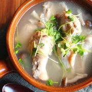 簡単*とろとろ鶏手羽の生姜風味サムゲタン