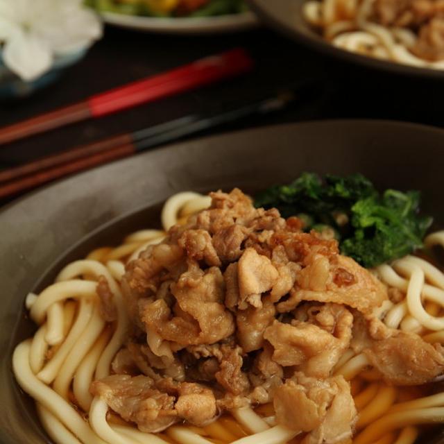 【レシピ】おいしい豚肉うどん
