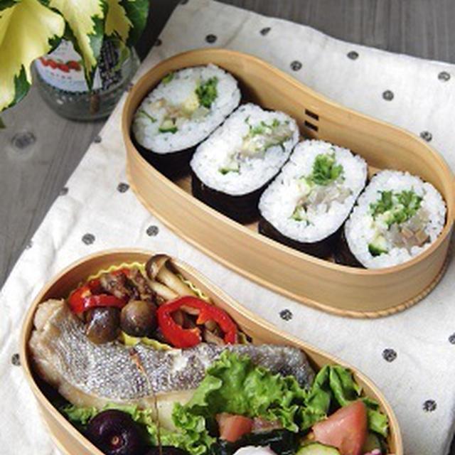 たらのポン酢煮 いわしの巻き寿司弁当