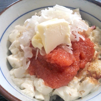 【ずぼら飯】2chで話題になってる明太子丼を作ってみたが・・・