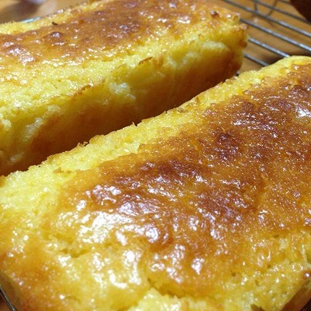 ヨーグルトレモンケーキ