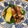 葉玉ねぎとホタルイカの酢味噌辛子和え / 「Smiling Vegetables」~笑顔の野菜