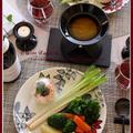 バーニャカウダ!で、蒸し野菜をたっぷり食べちゃおう!!