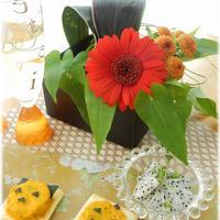 花と料理で楽しむ♪☆ハッピーハロウィンカナッペ♪