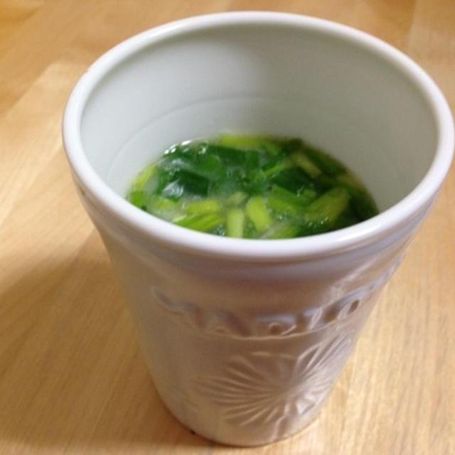 マグカップ式・豆乳味噌汁