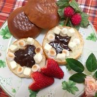 リプトンの紅茶でひらめき朝食☆型抜きでデコレーションパン