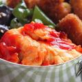 こってり美味しい!簡単おかず「卵のチリソース」のお弁当