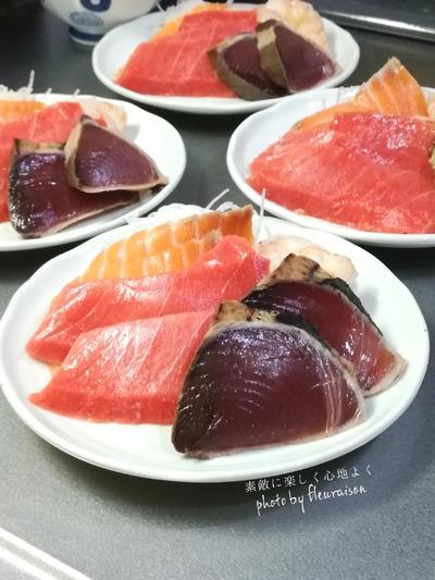 【今日の献立】ちらし寿司と白菜の具だくさんお味噌汁♡