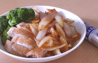 鶏の照り焼きカルダモン風味~スパイス大使