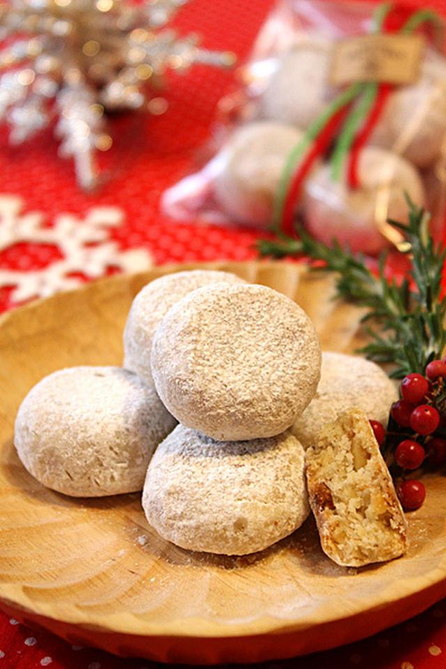 フライパンで作る簡単スノーボールクッキーのレシピ