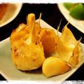 スタミナ満点!ほっこり美味しいニンニクの丸揚げ♫