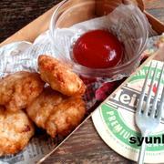 【簡単!!カフェごはん】鶏胸肉で*チキンナゲット