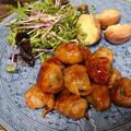 栄養満点!!!芽キャベツ豚バラ包 バルサミコ酢風
