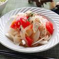【シャキシャキ簡単高タンパク】ささみと新玉ねぎの和風トマトマリネ レシピ・作り方