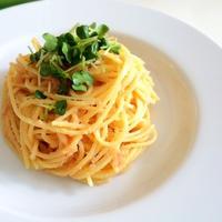 和えるだけ!ふつうの明太子スパゲティとガーリックポテト