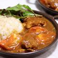 市販のカレールウで作る『鶏肉とトマトのカレー』*今日のレシピ