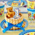 1歳の男の子の誕生日ケーキ (動画レシピ) by オチケロンさん