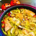 秋鮭と鱈のサルスエラ Zarzuela♡スペイン風魚介の煮込み♪