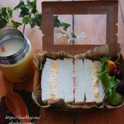 サンドイッチ&シチュー弁当【本日のお弁当】