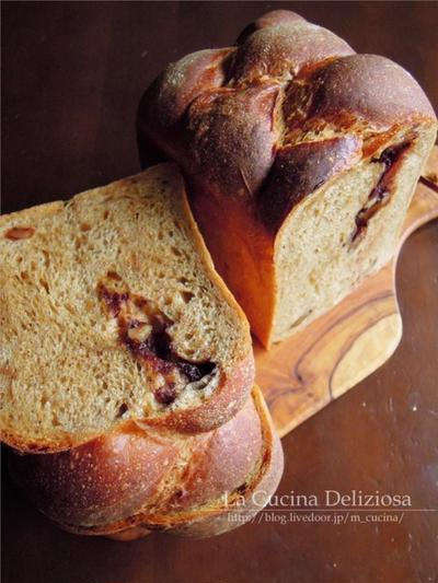 コーヒー食パンとスムージー