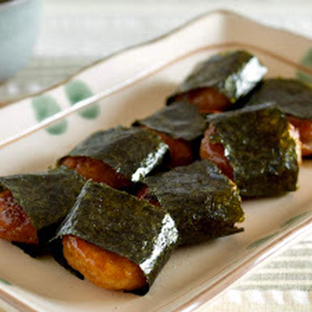 大根餅 (磯部焼き風) | 英語料理 レシピ動画 | OCHIKERON