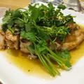 塩麹で鶏胸肉のタイ風ソテー