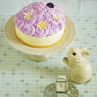 * お花のケーキ&月曜日を楽しくする時計♪