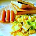卵を使ったご飯にもパンにも合う簡単おかず1品 『レタスとキノコ・卵のソテー』 by アレックスさんさん