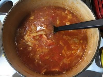 >ベーコンと白菜のトマトスープ by Rifakoさん