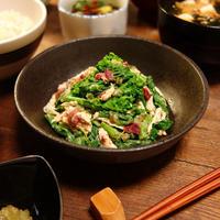 普段のレシピをちょっとアレンジ~☆和のスパイスと春の和の食材で日々の食卓を楽しむ~♪菜の花とささみのわさび梅おかかマヨ和え -Recipe No.1607- 【Japanese】