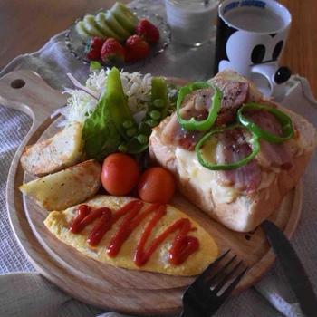 お昼が楽しみなお弁当と朝ごはん。