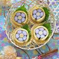 春♪玉子巻きのお花の飾り巻き寿司