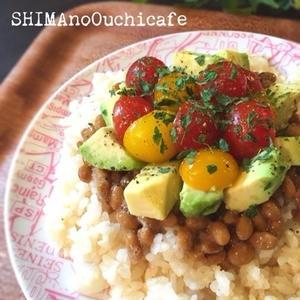 女性におすすめ!納豆&アボカドのヘルシー丼ぶりレシピ