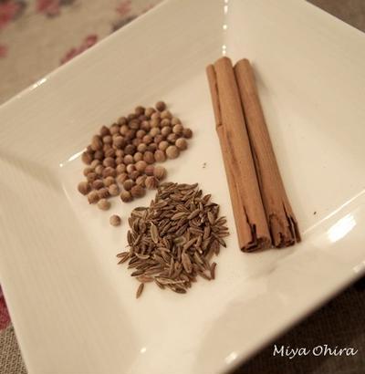 【1day lesson・夏】ガラムマサラを手作りし、暑い夏を快適に過ごす為のスパイス料理