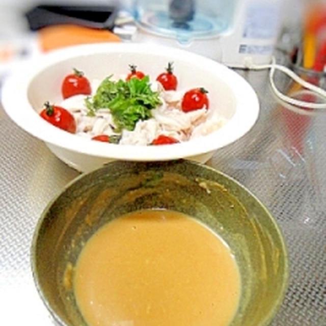 塩麹・豆乳・きなこのヘルシータレ(豚しゃぶなどに)