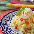 白菜がモリモリ食べられる!黄金比率でエスニック白菜と人参のお浸し