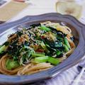 【ぐんまクッキングアンバサダー】小松菜としらすのペペロンチーノ