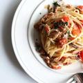 【旨みたっぷり!】ブリとトマトのオイルパスタのレシピ
